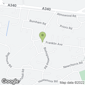 Map of DREAM WEDDING GOWNS in Tadley, hampshire