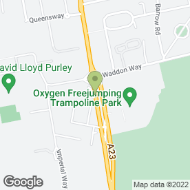 Map of The Hallmark Hotel Croydon Aerodrome in Croydon, surrey