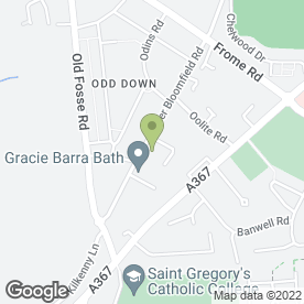 Map of Curry Garden in Bath, avon