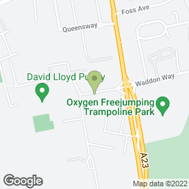 Map of Safestore Self Storage in Croydon, surrey