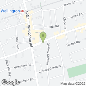 Map of Sounds Alarming (UK) Ltd in Wallington, surrey