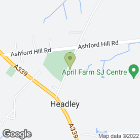 Map of Headley P.O in Headley, Thatcham, berkshire