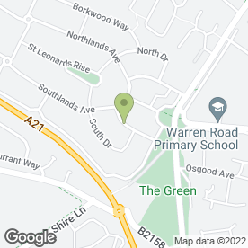 Map of Creative Flooring Ltd in Orpington, kent