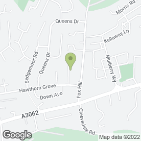 Map of Chris Hitchcock Flooring Ltd in Combe Down, Bath, avon