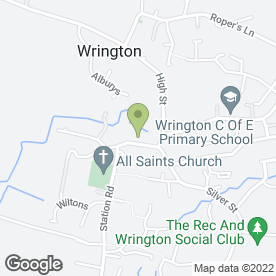 Map of Setter Lee & Wrington Vale Lettings in Wrington, Bristol, avon