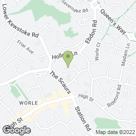 Map of DTV Aerials in Worle, Weston-Super-Mare, avon