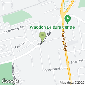 Map of Shurgard Self Storage - Croydon Fiveways in Croydon, surrey