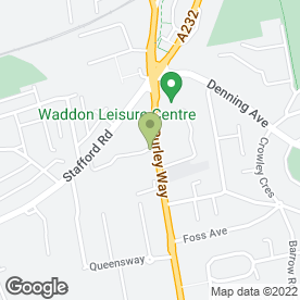 Map of Happy Inn in Croydon, surrey