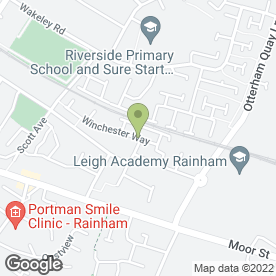 Map of Webtech Designs (UK) in Rainham, Gillingham, kent