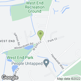 Map of The Prince of Wales in Esher, surrey