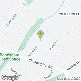 Map of Elmbridge Skip Hire in EPSOM, surrey