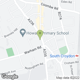 Map of Gold Hawk Service & Mot Centre in Croydon, surrey