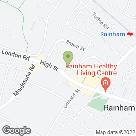 Map of S Akbar & Co in Rainham, Gillingham, kent