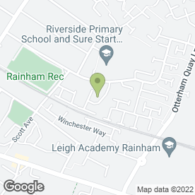 Map of ABSOLUTELY PHABULOUS BEAUTY STUDIO in Rainham, Gillingham, kent