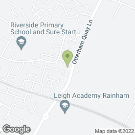 Map of Beckenham Storage Ltd in Gillingham, kent