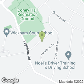 Map of MP Associates In Print in West Wickham, kent