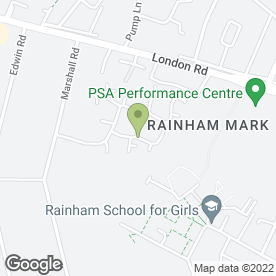 Map of Shelby's Beauty Bar in Rainham, Gillingham, kent