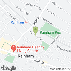 Map of Medway Alarms in Rainham, Gillingham, kent