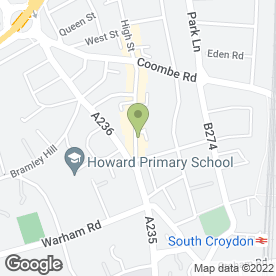 Map of LE BON CAFE in Croydon, surrey