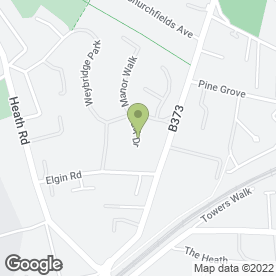 Map of Erich Suter Barrister in Weybridge, surrey