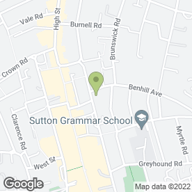 Map of PORTER in Sutton, surrey