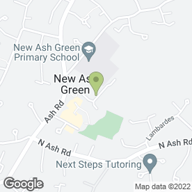 Map of Fuzion Beauty in New Ash Green, Longfield, kent