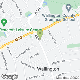 Map of Diamond Upholstery in , surrey