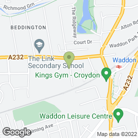Map of S.A.S A2Z Car Recovery in Croydon, surrey