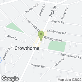 Map of D S C SECURITY in Crowthorne, berkshire