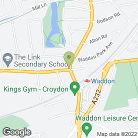 Map of S.G Smith Skoda in Croydon, surrey