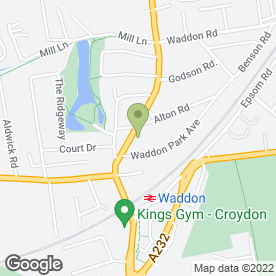 Map of Companion Care Vets, Croydon - Inside Pets at Home in Croydon, surrey