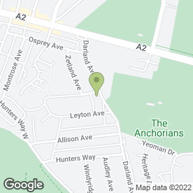 Map of Black Belt Martial Arts Academy in Gillingham, kent