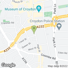 Map of You & Me Hair & Beauty Salon in Croydon, surrey
