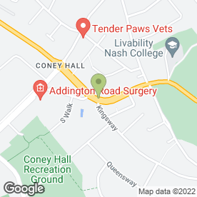 Map of The Coney Mountain Range Restaurant & Bar in Kent, kent