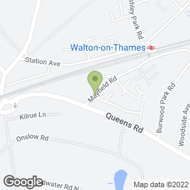 Map of G Townsend Carpenter & Locksmith in Hersham, Walton-On-Thames, surrey