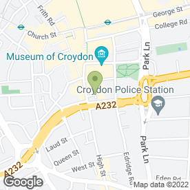 Map of Quality Drink Awards in Croydon, surrey