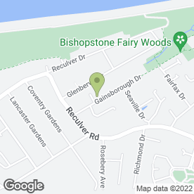 Map of BARTLETT DECORATORS in Beltinge, Herne Bay, kent