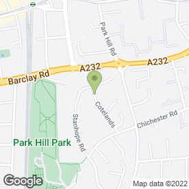 Map of Mariana's Mobile Hair & Beauty in Croydon, surrey