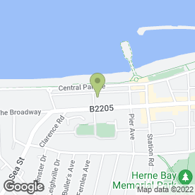 Map of St. Peters Convent in Herne Bay, kent