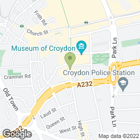 Map of Foreign Exchange UK Ltd in Croydon, surrey