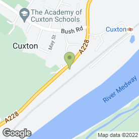 Map of J Daly Plant Hire in Cuxton, Rochester, kent