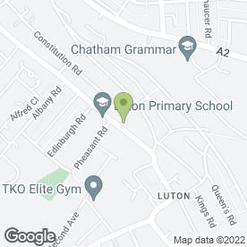 Map of J & S Plumbing & Heating Centre Ltd in Chatham, kent