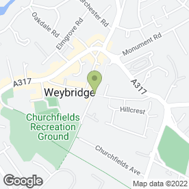 Map of New Fit Tailoring in Weybridge, surrey