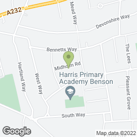 Map of Maintracts Services Ltd in CROYDON, surrey