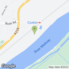 Map of P.R Services (Cuxton) Ltd in Cuxton, Rochester, kent
