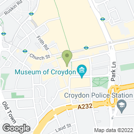 Map of Tiger Tiger in Croydon, surrey