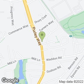 Map of DECKBOARD HARDWOOD FLOORING CENTRE in Croydon, surrey