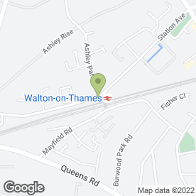 Map of The Tech Shed in Walton-On-Thames, surrey