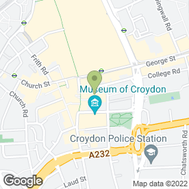 Map of Cianna Hairdressers in Croydon, surrey