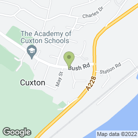 Map of MK DELIVERIES in Cuxton, Rochester, kent